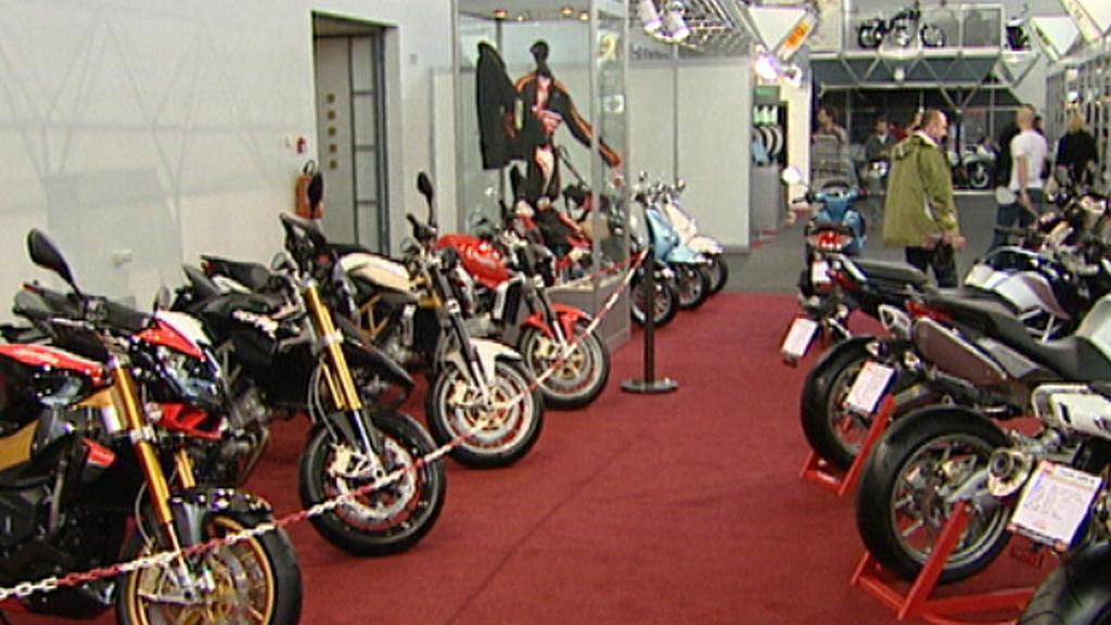 Motocyklová výstava