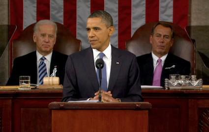 Barack Obama v americkém Kongresu