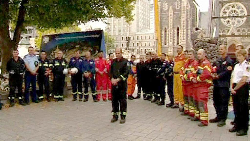 Christchurch si připomíná oběti zemětřesení