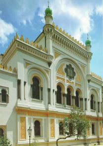 Barokní Španělská synagoga v Praze