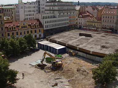 Stavba Copa Centra