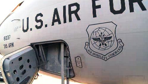Americký vojenský letoun