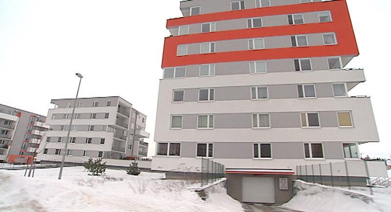 Nový dům na sídlišti na Jižním městě