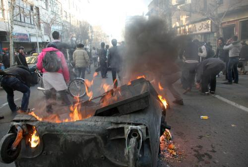 Protesty v Teheránu