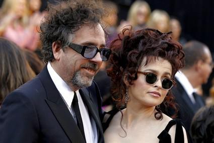 Tim Burton a Helena Bonhamová Carterová