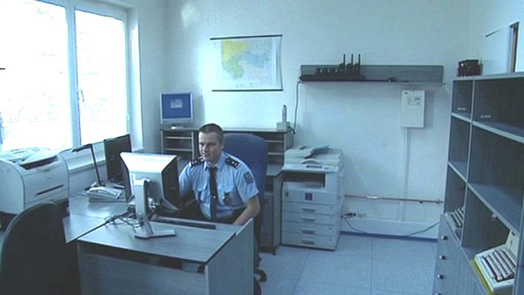 Policejní služebna v bytě