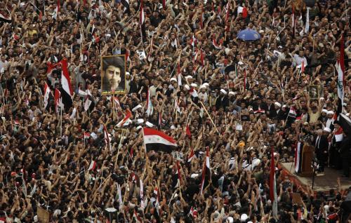 Demonstrace v Iráku