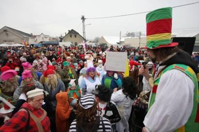 Masopustní oslavy v Zadní Třebani