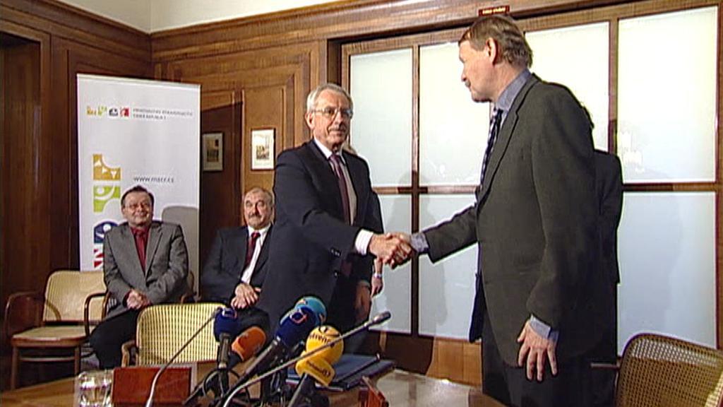 Leoš Heger a Martin Engel