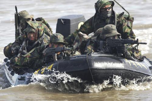 Cvičení jihokorejské armády