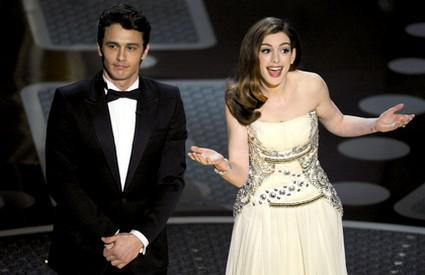 James Franco a Anne Hathaway