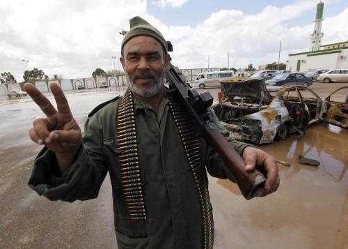 Libyjský opoziční aktivista