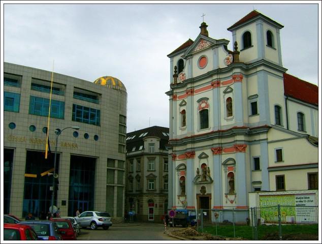 Ústí nad Labem / ČNB, kostel sv. Vojtěcha