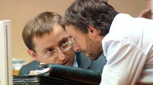Rudolf Blažek a Pavel Bém