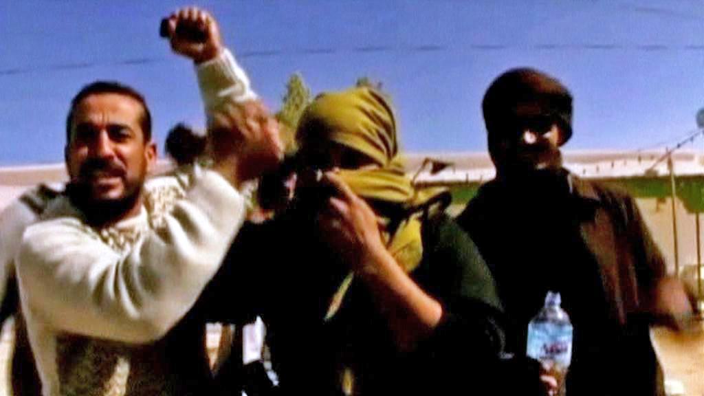Libyjští demonstranti