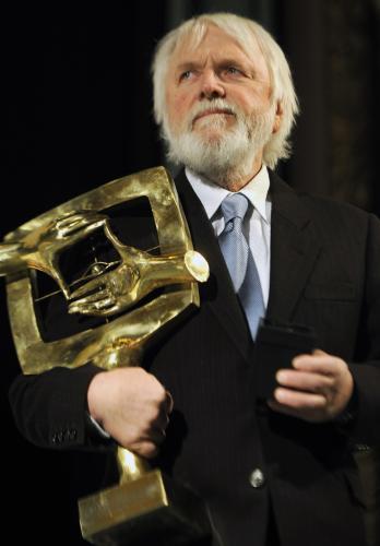 Andrej Barla obdržel cenu za celoživotní dílo