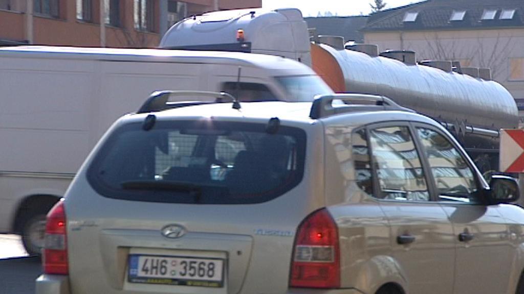 Komplikovaná dopravní situace