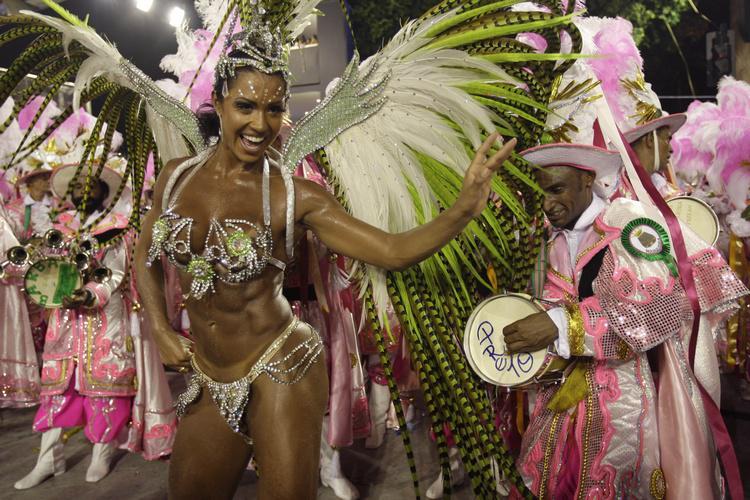 Karneval v Rio de Janeiru