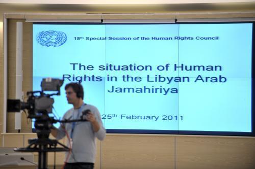 Rada OSN pro lidská práva jednala o Libyi