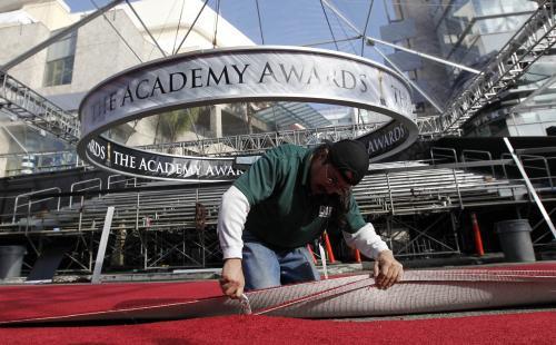 Přípravy na Oscary