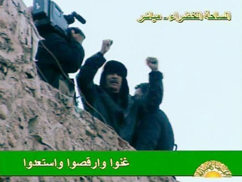 Muammar Kaddáfí v projevu k Libyjcům