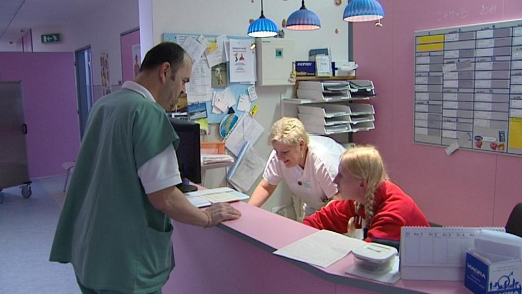 Recepce sušické nemocnice