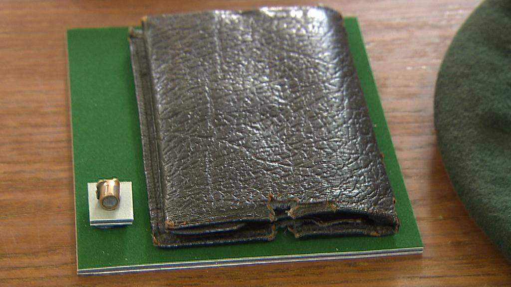 Prostřelená peněženka Milana Paumera