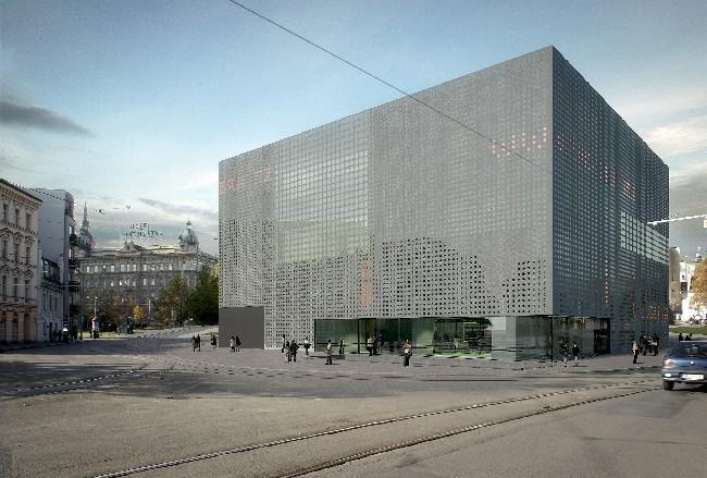 Vítězný návrh na novou Západočeskou galerii