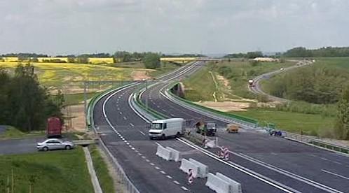 Stavba rychlostní silnice