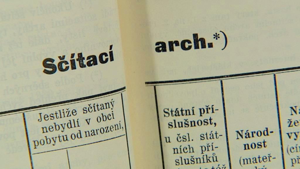 Starý sčítací arch