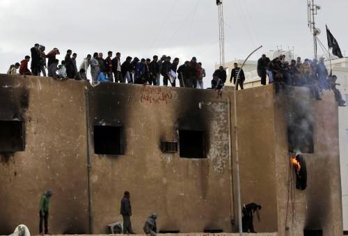 Protesty v libyjském Tobruku