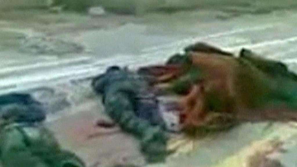 Oběti libyjských nepokojů