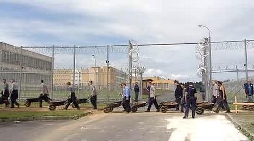 Vězni při práci