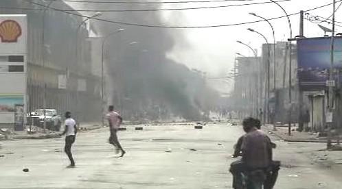 Nepokoje v Abidžanu
