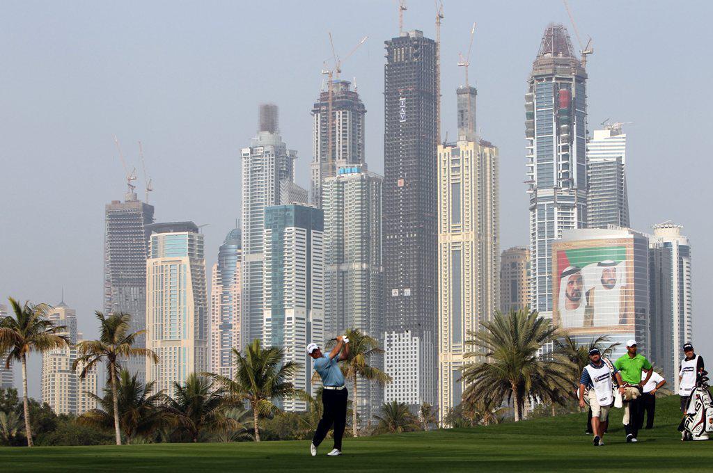 Golfové hřiště v Dubaji