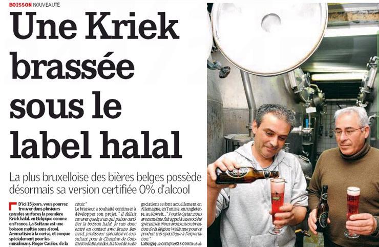 Belgický La Capitale o halal pivu