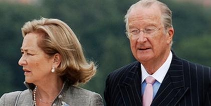 Belgický král Albert II. s manželkou Paolou