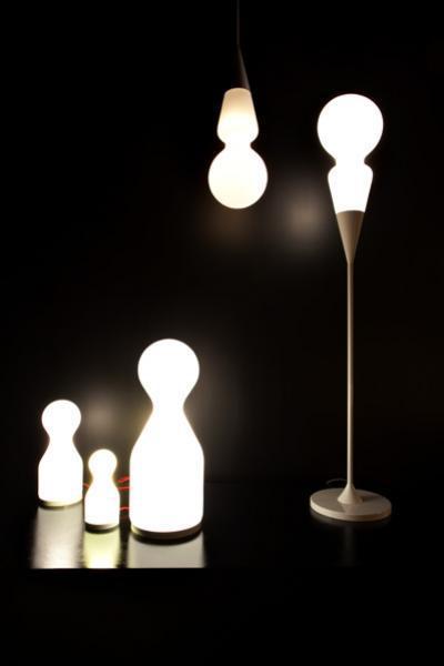 Olgoj Chorchoj / kolekce lamp Teo pro Brokis