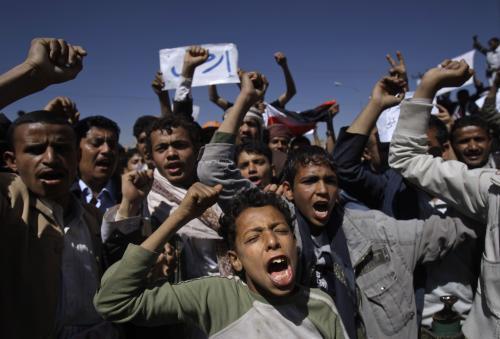 Protivládní protesty v Jemenu