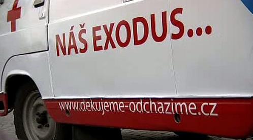 Odchod českých lékařů