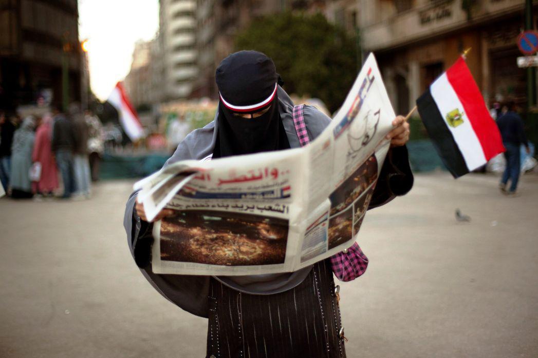 Husní Mubarak odstoupil