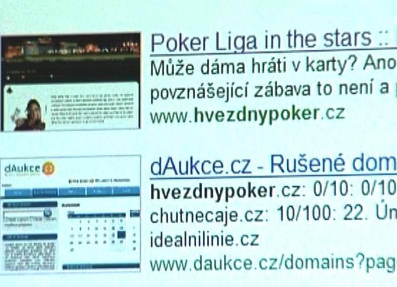 Internetové stránky