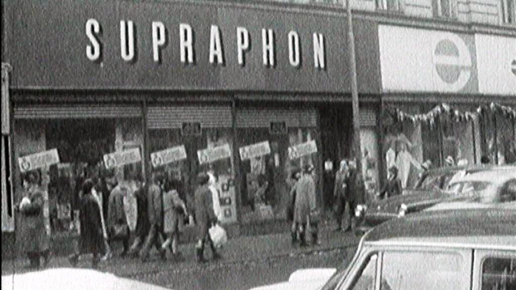 Prodejna Supraphonu