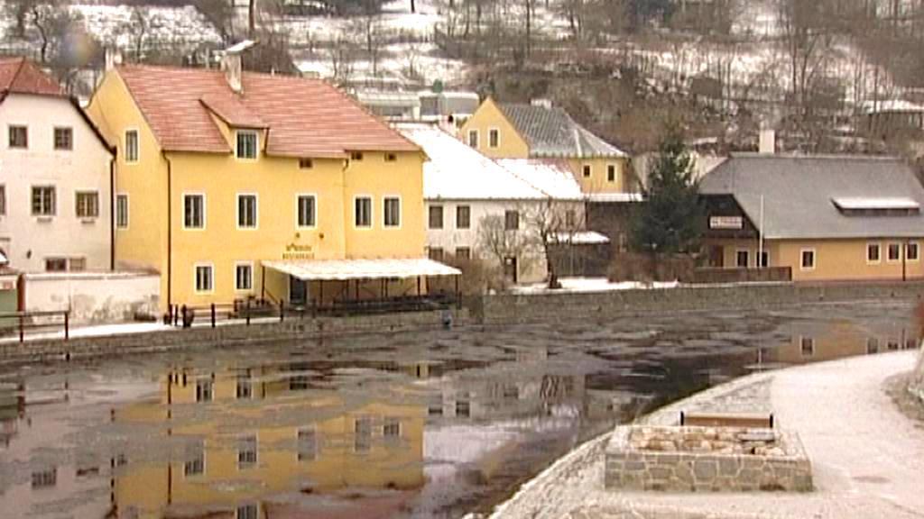 Vltava v Českém Krumlově
