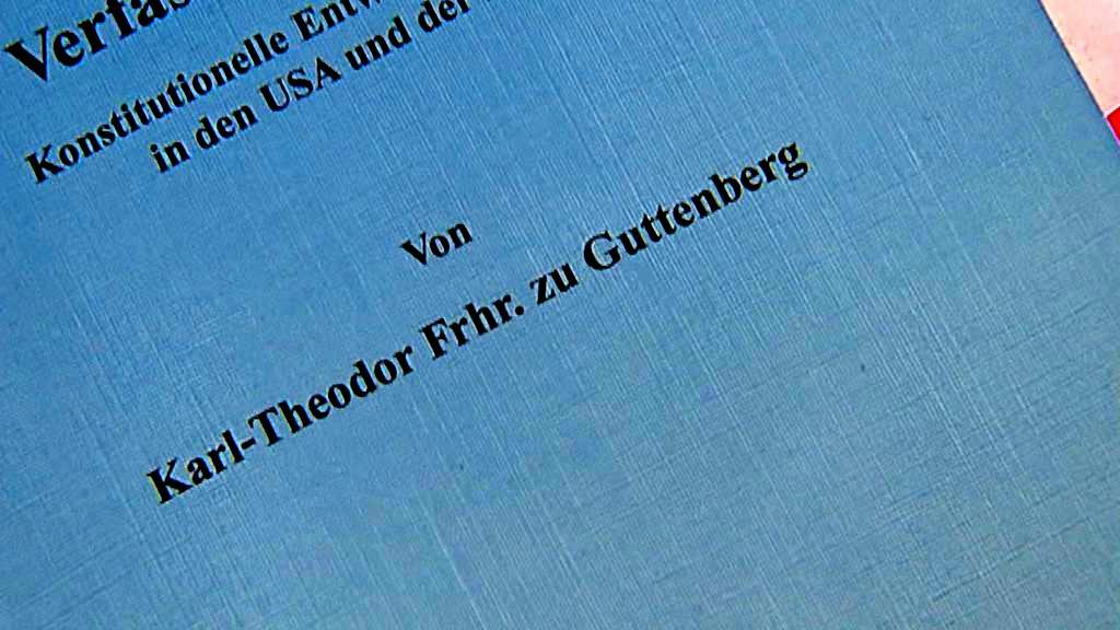 Doktorská práce německého ministra
