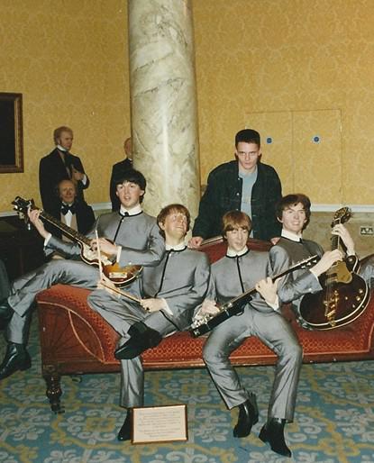 Londýnští voskoví dvojníci Beatles