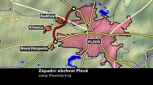 Západní obchvat Plzně