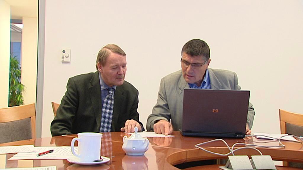 Martin Engel a Jiří Hrabovský