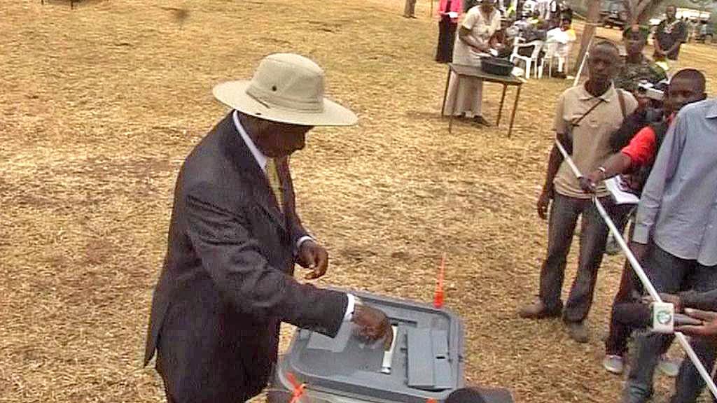 Volby v Ugandě