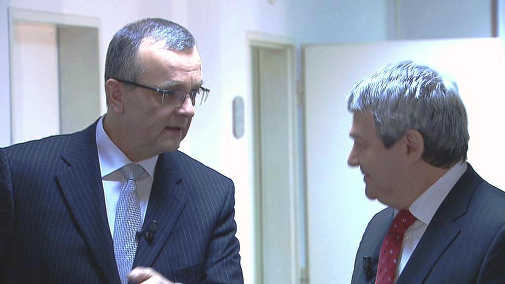 Miroslav Kalousek a Vojtěch Filip
